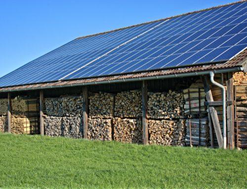 Solaranlage, sauber geplant und installiert, reduziert Kesselleistung drastisch!